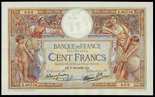 FRANCE SUPERB 100 FRANCS MERSON 6-10-1938 AU/UNC LARGE SIZE NOTE RARE BANKNOTE