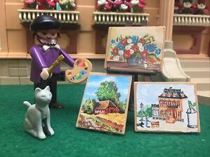 Playmobil 5404 Victorian  Artist /Painter