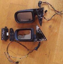 BMW E38 Power Folding Electric Heated Mirrors Retrofit Kit Powerfold 7 Series