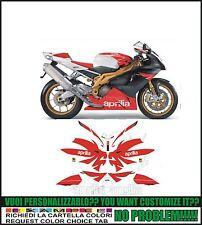 kit adesivi stickers compatibili  rsv 1000 r factory 2006
