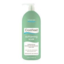 Natural Look COOL FEET Professional Spa Pedicure Foot SOFTENING SOAK - 1L