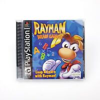 Rayman Brain Games (Sony PlayStation 1, 2001) PS1 Game TESTED (NTSC/US/CA)