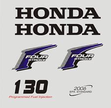 Adesivi motore marino fuoribordo Honda 130 - 135  hp four stroke gommone barca