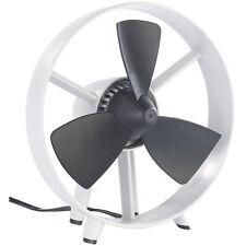 "infactory Tisch-Ventilator ""Streamline"" im Turbinen-Design, V2, 8"", 18 Watt"