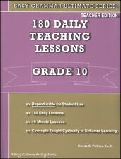 Easy Grammar Ultimate Series: 180 Daily Teaching Lessons Grade 10