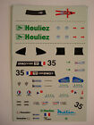 DECALS KIT 1/43 WR PEUGEOT TEAM WALTER RACING LE MANS 2000 N.35 DECALS