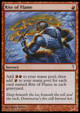 MTG RITE OF FLAME EXC - RITO DELLA FIAMMA - CSP - MAGIC