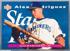 Alex Rodriguez Autograph 1995 Star Rookie Upper Deck