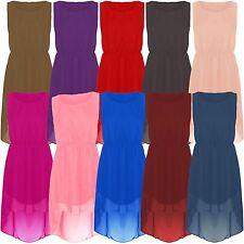 Damenkleider mit U-Ausschnitt aus Polyester