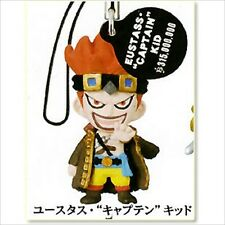 Bandai One piece Phone Strap 3 Log Memories 03 Figure Eustass
