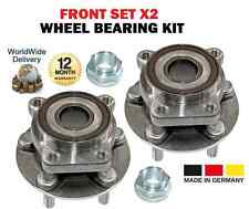 FOR SUBARU LEGACY IV 2003 >ON SALOON ESTATE NEW FRONT SET WHEEL BEARING X2
