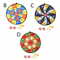1set Darts Plate Board Flocking Dart Children Cave Sports Toy Double Target Game