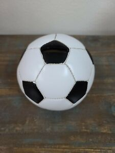 Soccer Ball Sports Themed Ceramic Kids Piggy Bank Bedroom Décor Coin Bank
