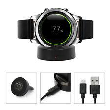 Qi Ladestation Ladegerät Dockingstation für Samsung Gear s2 s3 Smart Watch DE