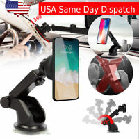 Car Mount Holder Magnetic Windshield Dashboard Suction Mount For Cell Phone GPS
