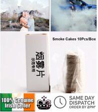 10 Pcs White Smoke Cake Pills Effect Show Fog Photography Bomb Stage Halloween
