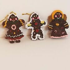 Gingerbread Ornaments Holiday Christmas Tree Decorations