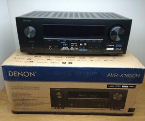 Denon AVR-X1600H 7.2 AV-Receiver, HEOS, DTS:X, Dolby Atmos, Alexa Kompatibel,