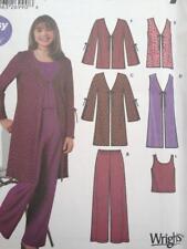 Simplicity Sewing Pattern 5486 Childs Girls Jacket Vest Knit Top Pants Size 8-16