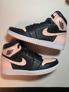 Nike Air Jordan 1 Retro High OG Crimson Tint Size 12 Pink Black  555088-081