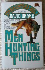 Men Hunting Things Starhunters #1 by David Drake PB 1st Baen - Clifford D. Simak