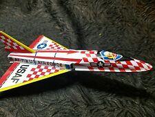 LP15 Vintage Japan Friction Tin Air Force Jet TOY AF-719
