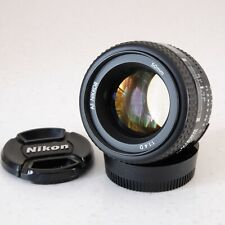 Nikon AF Nikkor 50mm F/1.4 D - very good condition