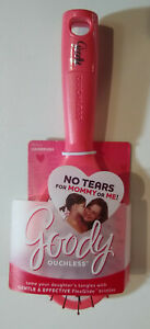 """Goody Ouchless No Tears Flexguide Hair Brush 7 1/4"""" or 9 1/4"""",  Purple or Pink"""