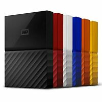 WD 1TB 4TB My Passport Portable External Hard Drive USB 3.0 PS3 PS4 XBOX PC MAC