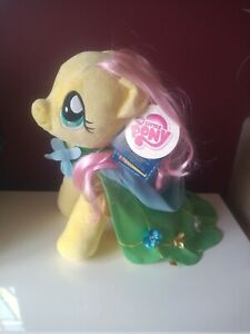 """Build a Bear My Little Pony Fluttershy with Cape """"VGC"""" with Tags 15"""" plush"""