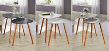 New Bjorn Wood Scandinavian Modern Set of 2 Living Room Nested Coffee/End Tables
