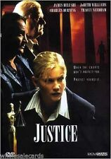 Justice (DVD, 1999) AKA Backlash, James Belushi, Tracey Needham RARE DVD!