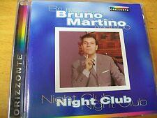 BRUNO MARTINO NIGHT CLUB  CD MINT- ORIZZONTE