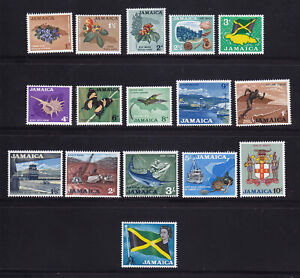 Jamaica 1964 SG217 - 232 MNH Lovely Condition