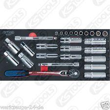 KS Tools SCS 1/4-1/2 zündkerzen-service-satz 27tlg 1/3 Sistema de REPUESTOS
