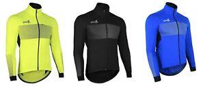 Sparx Mens Winter Softshell Cycling Jacket Windproof Thermal Bike Jacket