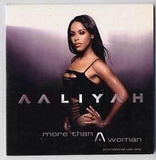 AALIYAH Cd Maxi MORE THAN A WOMAN 2001