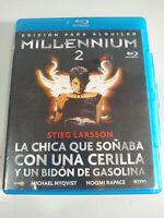 Millennium 2 Stieg Larsson Chica que Soñaba Cerilla - Blu-Ray