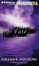 Fate by Amanda Hocking (2012, MP3 CD, Unabridged) Audio Book Free Shipping!