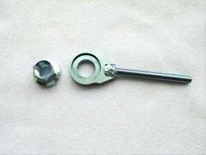 speedway/grasstrack lightweight Rear spindle nut and adjuster flanged...