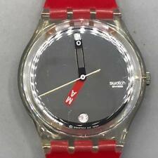 Swatch Watch MOMA Red GZ406C Museum of Modern Art