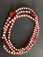 ELEKE Collar De Orisha SHANGO decor Ileke Santeria  Yoruba / Collar Religioso