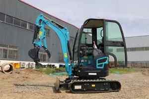 2000kg VTW-10 Diesel Mini Excavator small Digger Meet CE EPA EURO 5 Emission