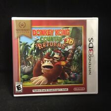 Donkey Kong Country Returns  (Nintendo 3DS) BRAND NEW