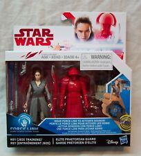 Star Wars The Last Jedi Rey Training & Elite Praetorian Guard Action Figure Set
