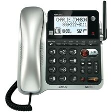 At&T Dect 6.0 Corded/Cordless Phone System, Digital Answering, Caller Id/Waiting