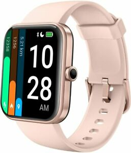 """AKWLOVY Smart Watch for Men Women,1.69"""" TouchScreen Fitness Watch Built-in Alexa"""