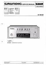 Service Manual-Anleitung für Grundig M 100-CD