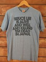 Large T-Shirt by Homage - Bruce Lee Is Alive And Well