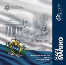 Coffret des 8 pièces de San Marin 2012.